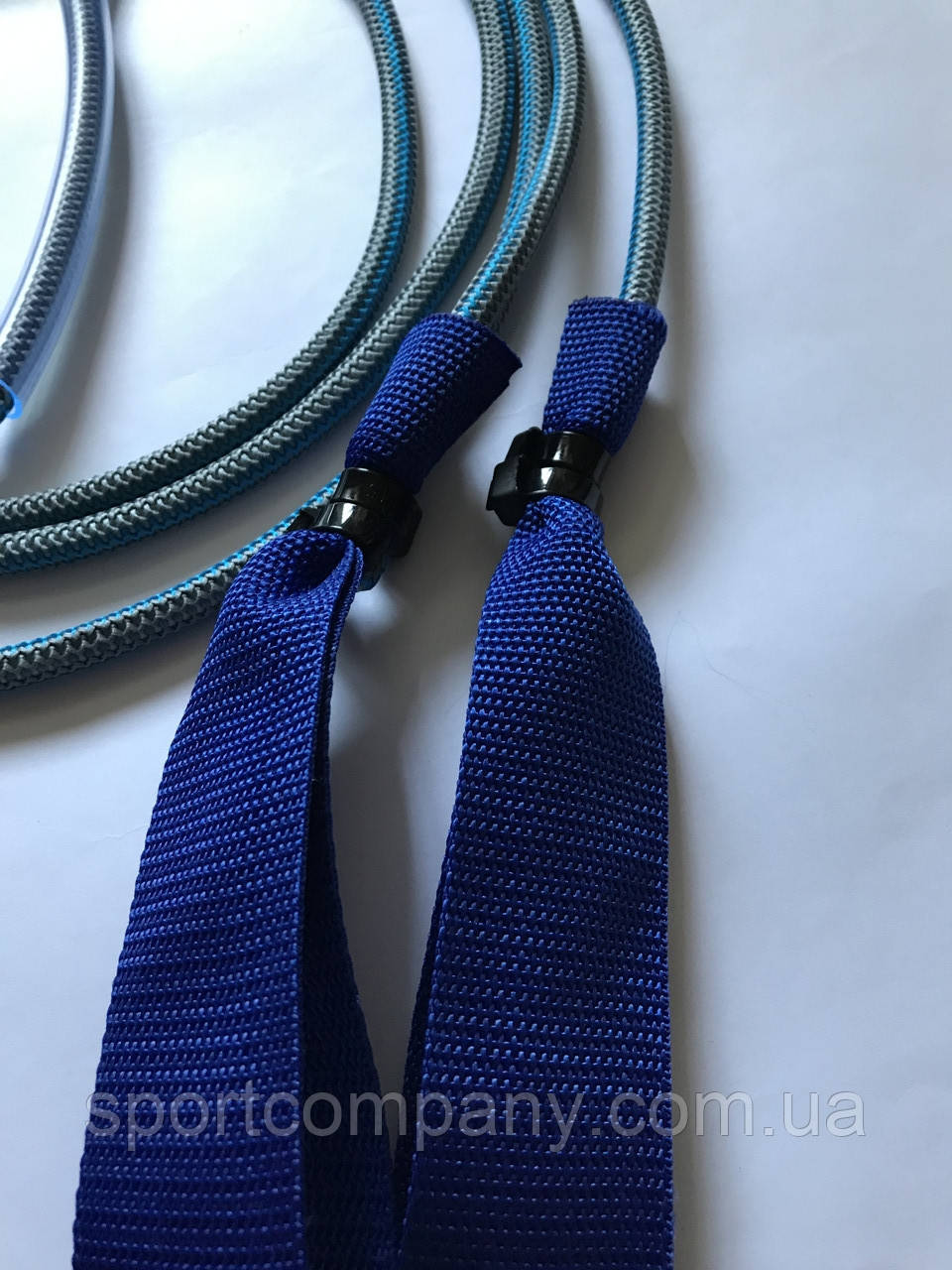 Петли синие тканевые для эспандера