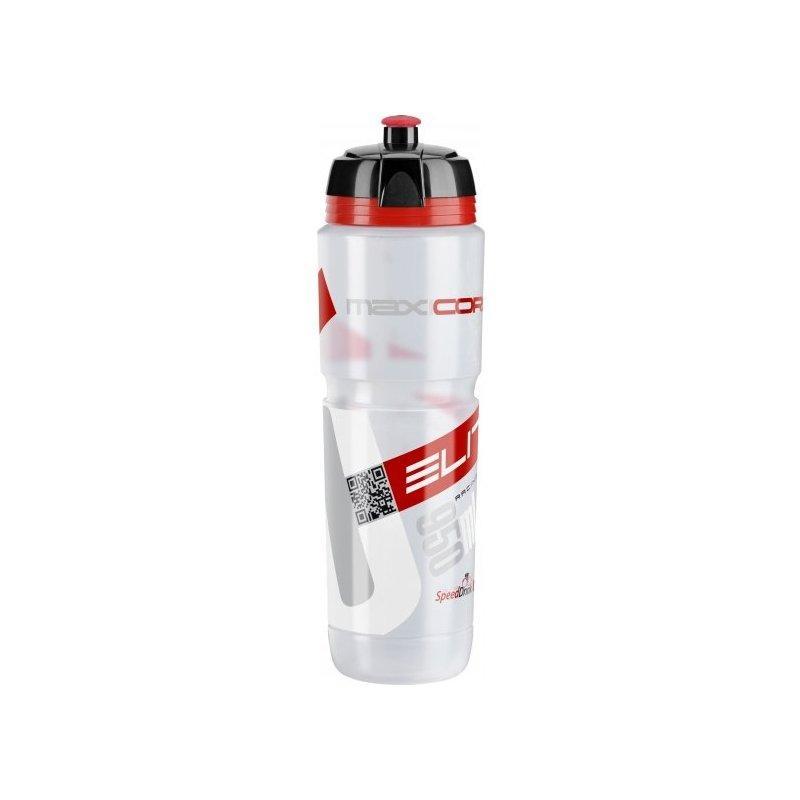 Фляга ELITE MAXICORSA 1000мл, сірий/червоний (0102204)