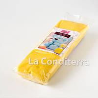 Желтая шоколадная паста для моделирования c какао маслом, 1 кг