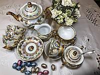 Чайный сервиз Мадона. на 6 персон 15 предметів. Чеська кераміка.
