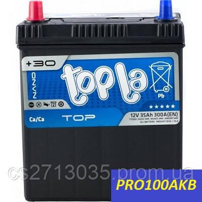 Автомобильный аккумулятор Topla top asia 35 Ач 300 А (0) R+