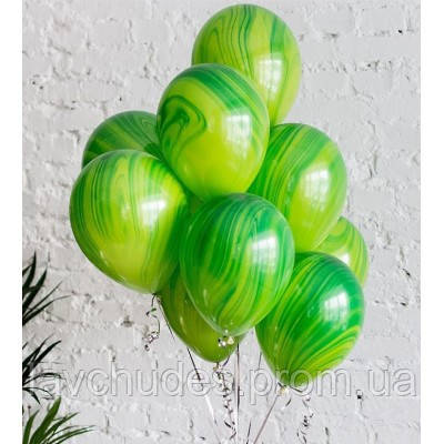 Композиция из гелиевых шаров . Шары агаты зеленые. Гелиевые шары Троещина. Гелиевые шары Воскресенка.