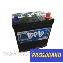 Автомобильный аккумулятор Topla top asia 45 Ач 400 А (0) R+