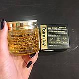 Антивозрастной крем с золотом и пептидами Farm Stay 24K Gold & Peptide Perfect Ampoule Cream, 80мл, фото 8