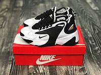 Кроссовки Nike Zoom 2K 2k  м2к Найк Зум 2к Чёрно-Белые Чёрные .