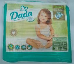 Подгузники Dada extra soft  new р.6  15+ кг 38 шт. Польша