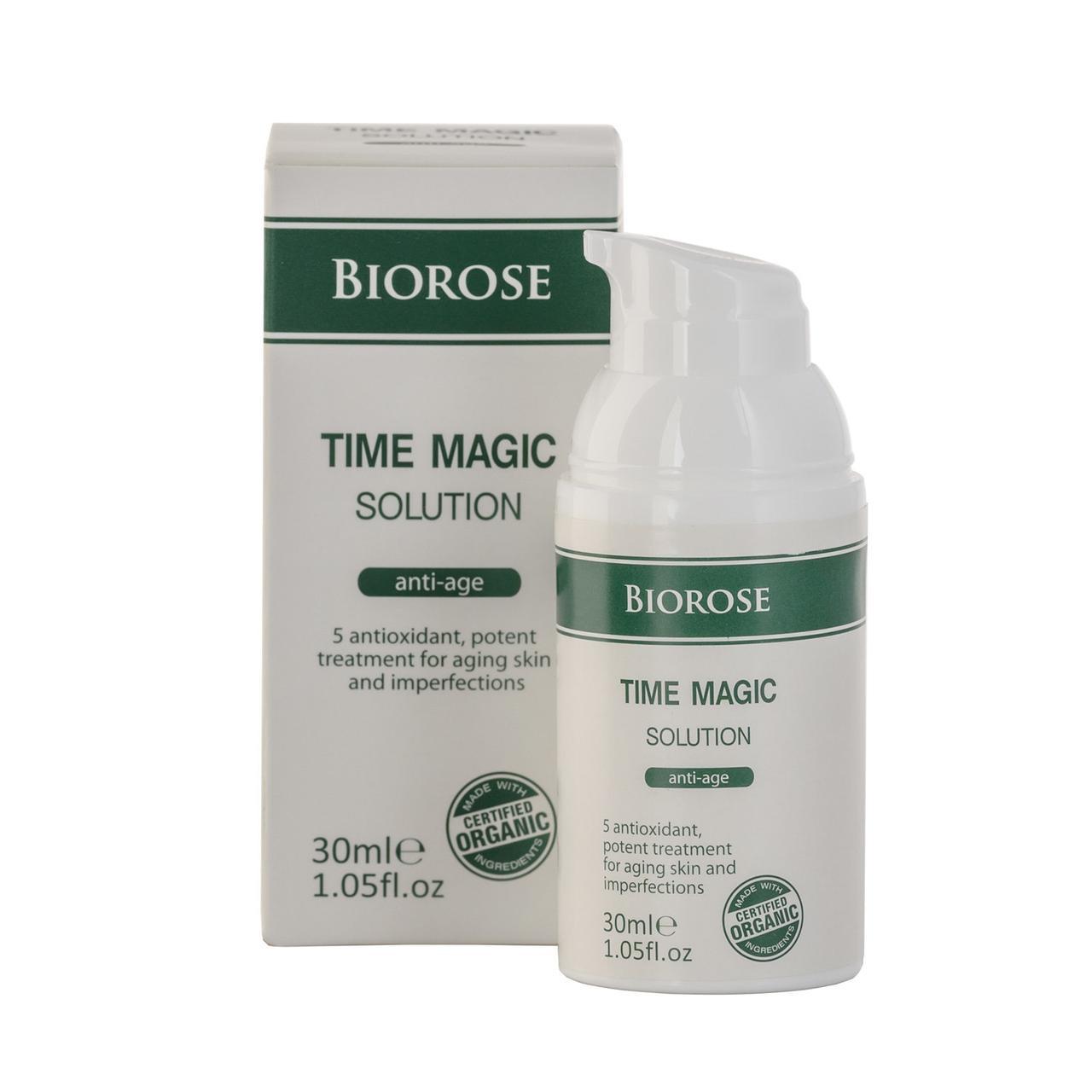Антивозрастная сыворотка кожи лица Time Magic Solution BioRose 30 мл