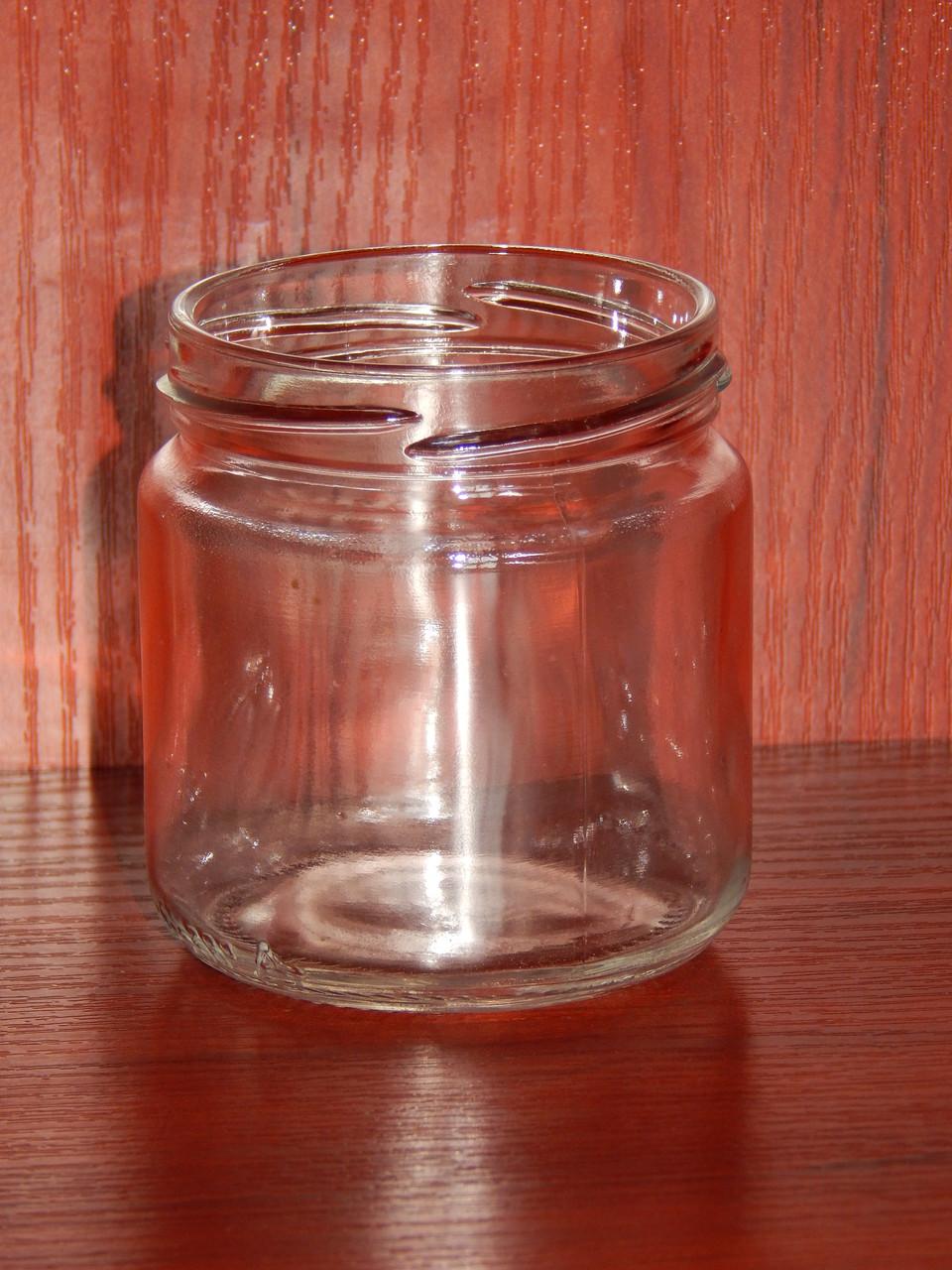 Банка стеклянная 200 мл с горловиной твист 66 мм (20 штук в упаковке)