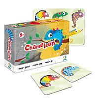 Настольная карточная игра мемо Хамелеон, Додо / Dodo