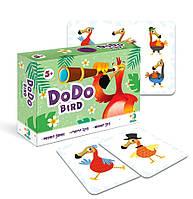 Настольная карточная игра мемо птичка Додо / пташка Додо / Dodo