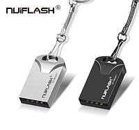 USB флешка брелок Nuiflash 32 Gb для пк ноутбука и телефона Флэш накопитель металлическая, фото 1