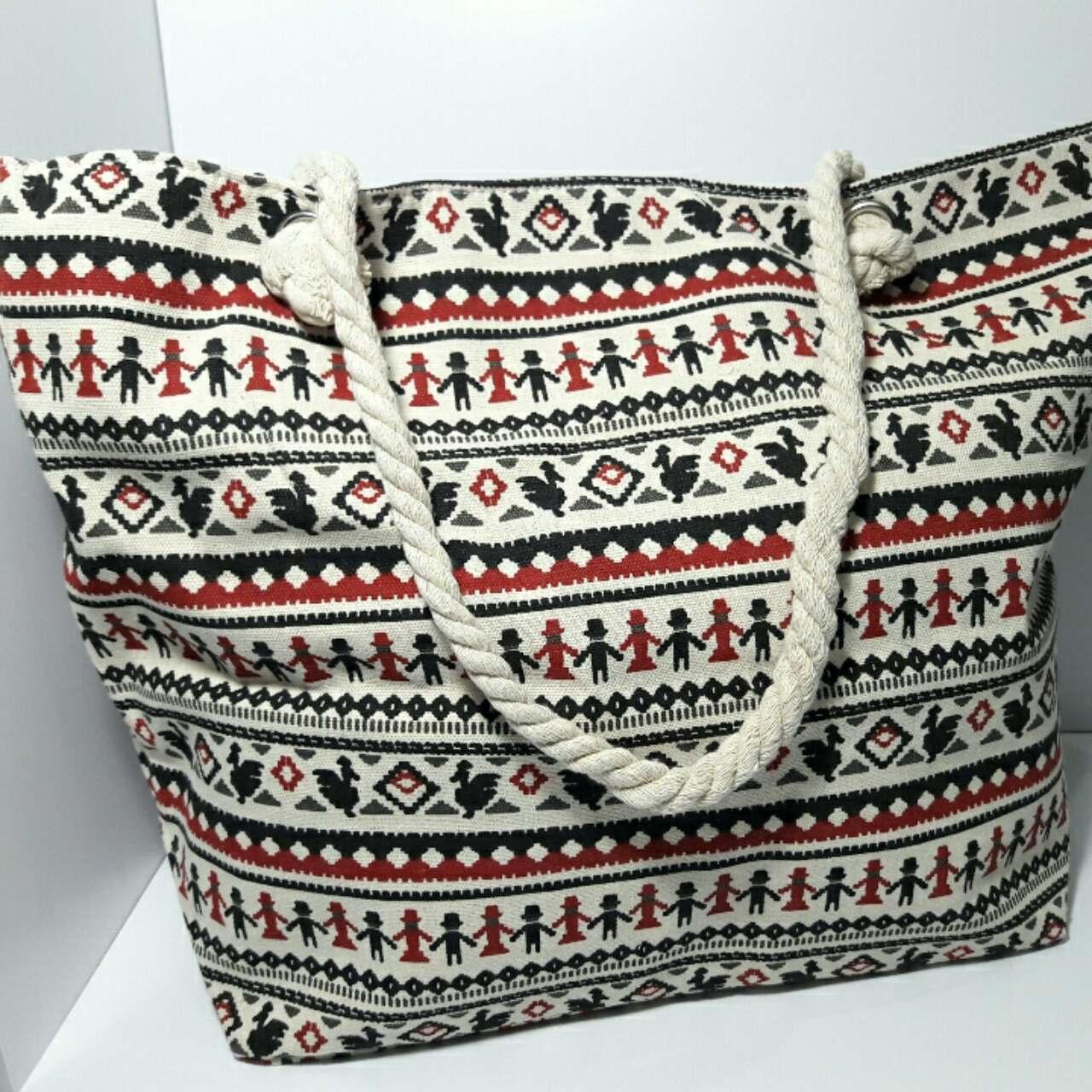 Пляжна сумка текстильна річна