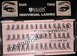 Накладные ресницы Salon Professional Duo Flare Mix