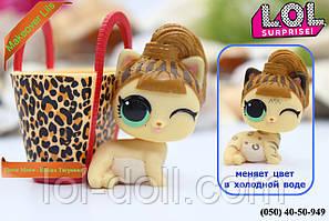 Кукла LOL Surprise Питомец  Fierce Meow - Кошка Тигровая Makeover Лол Сюрприз Оригинал