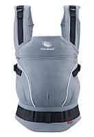 Слинг-рюкзак MANDUCA First PureCotton Sky Blue, фото 1