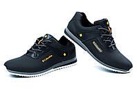 Мужские кожаные кроссовки в стиле в стиле columbia