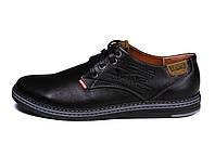Мужские кожаные туфли Levis Stage 1, фото 1