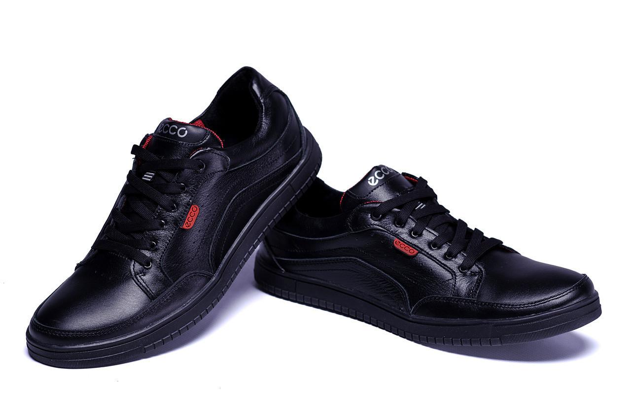 1423ccd4 Мужские кожаные кроссовки Ecco Wayfly Black реплика, цена 959,04 грн ...