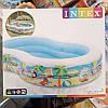 Детский надувной бассейн 56490 Intex, 572 литра (Райская лагуна) 262*160*46 см, фото 2