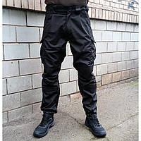 Брюки тактические Киборг (Черные), фото 1