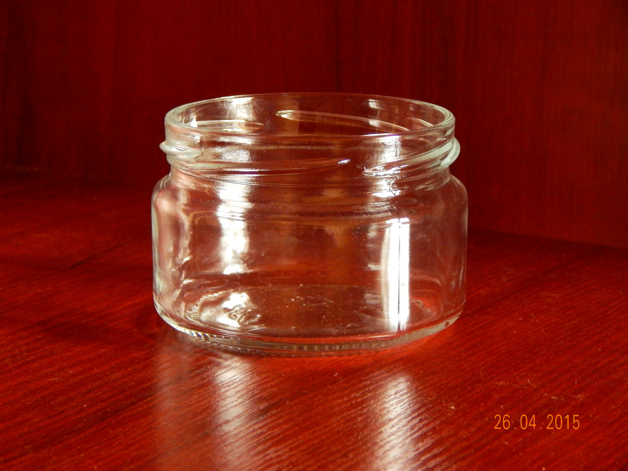 Банка стеклянная 250 мл с горловиной твист 82 мм (15 штук в упаковке)