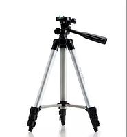 Штатив для камеры, телефона, трипод, тринога 3110 высота 1020мм