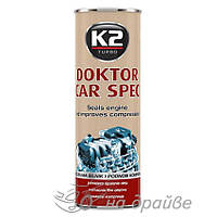 Присадка в масло Doktor Car Spec 443мл T350SYNT K2