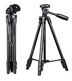 Штатив для камери(фото відео) і телефона тринога трипод А508 (125см), фото 5