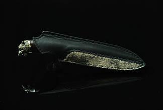 """Нож охотничий ручной работы """"Вожак-4"""", N690, фото 2"""