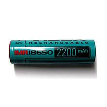 Высокотоковый акумулятор Videx IMR 18650 2200mAh 22A Li-ion 3,7 V
