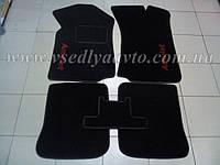 Ворсовые коврики в салон CHERY Amulet с 2003-2012 гг. (Черные)