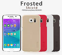Чехол для Samsung Galaxy S6 G920F - Nillkin Super Frosted Shield (пленка в комплекте)