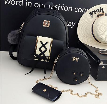 Комплект Рюкзак+ (4 предмета) черный