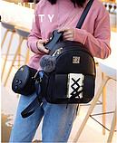 Комплект Рюкзак+ (4 предмета) черный, фото 4