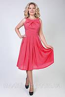 Летнее платье размерами 48-52