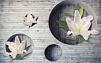 Фотообои виниловые на флизелиновой основе,моющие