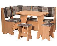 Кухонный уголок+раскладной стол+табуреты Аравия (Компанит)