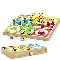 Настольная игра лудо Viga Toys (50064)