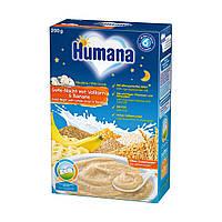 Каша HUMANA молочная многозлаковая «Сладкие сны» с бананом сухая для детей от 6-ти месяцев 250 г
