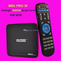 Smart приставка Mecool M8S PRO W 2/16гб S905W Android 7.1 Смарт ТВ TVbox