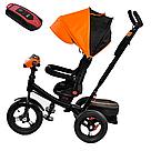 Трехколесный велосипед Best Trike со звуком и светом оранжевый, фото 2