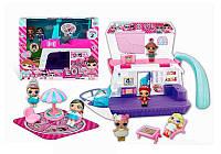 Игровой набор детский с куклами LOL и катером ТМ856
