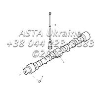 Передача, вал, двигатель 1104C-44T, RG38101 G1-2-8, фото 1