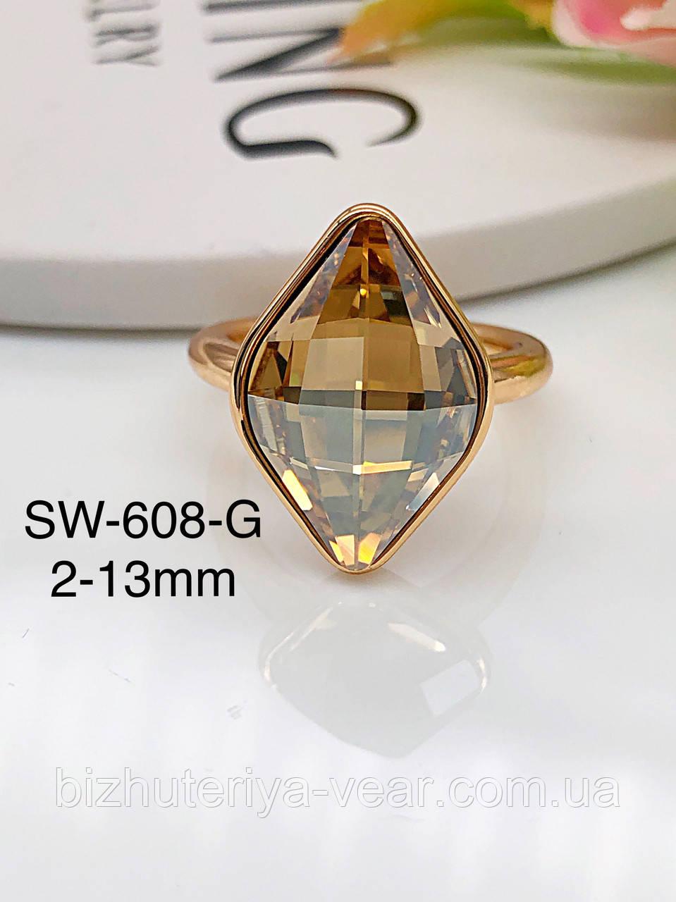 КОЛЬЦО XUPING SWAROVSKI Sw-608(6,7,8)