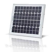 Солнечная батарея (панель,фотомодуль) монокристалл 10Вт Альтек ALM-10M