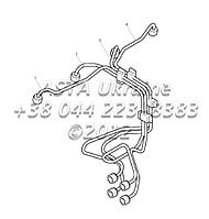 Топливные шланги, двигатель 1104C-44Т, RG38101 Г1-3-2, фото 1