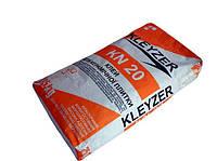 """KLEYZER KN-20 Клей для плитки  """"эластичный"""" для наружных работ и теплых полов"""