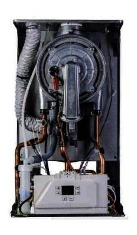 Сверхэффективный конденсационный 2-хконтурный газовый котел ITALTHERM CITY CLASS 35 КR до 350 м2 / Италтерм, фото 2