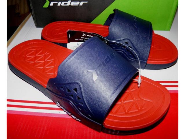 Шлепки Rider 82496-24642 синий\красный * 20365