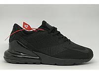 Кроссовки мужские Nike Air 270 Runeasy 722 черные реплика aaA